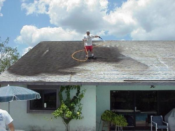 Apple Roof Cleaning Of Tampa Non Pressure Roof Cleaning Picture