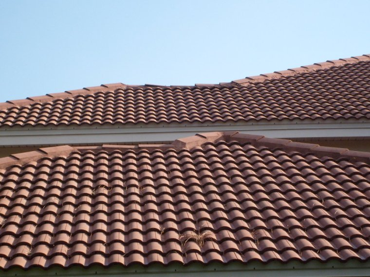Non Pressure Tile Roof Cleaning Tampa FL
