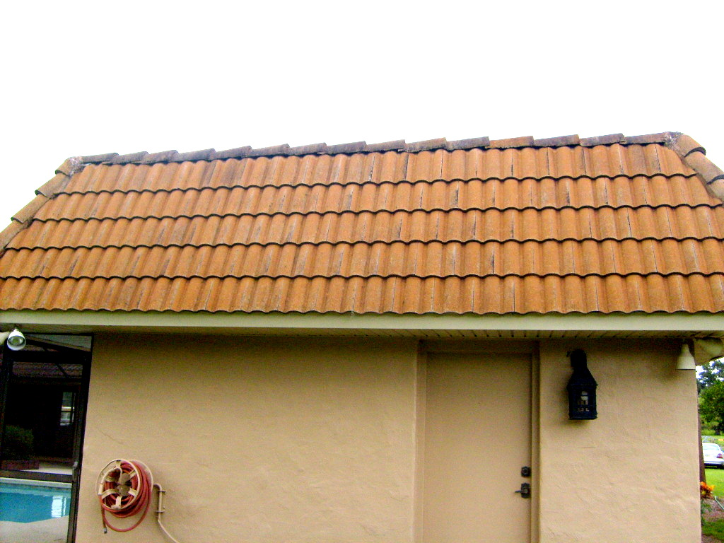Pressure washing tile roof tampa pressure washing roof tiles roof cleaning tampa florida - Reasons get roof cleaned ...