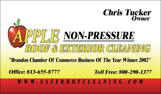 Roof Pressure Washing Tampa Florida