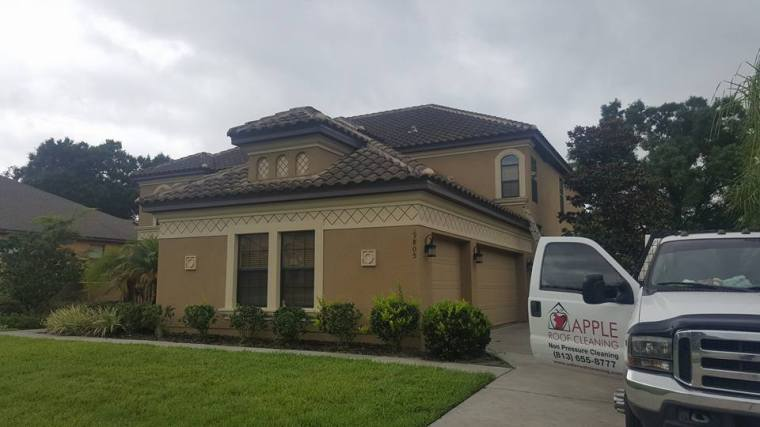Tampa Barrel Tile Roof